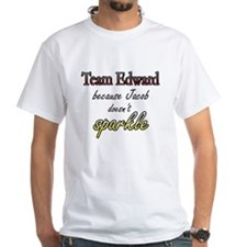 Team Edward Because Jacob doe Shirt