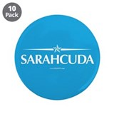 "Sarahcuda 3.5"" Button (10 pack)"