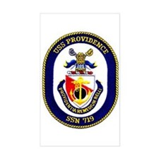 USS Providence SSN 719 Rectangle Decal