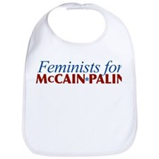 Feminists for McCain Palin Bib