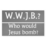 W.W.J.B. Rectangle Decal