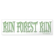 Run Forest Run! Bumper Sticker (50 pk)