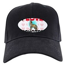 I Love Coyotes Baseball Hat