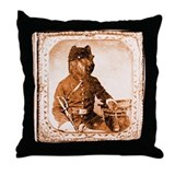 Briard TWITCH Throw Pillow