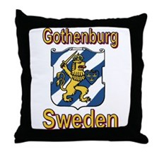 Unique Sweden Throw Pillow