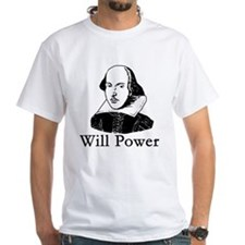 William Shakespeare WILL POWER Shirt