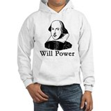 William Shakespeare WILL POWER Jumper Hoodie