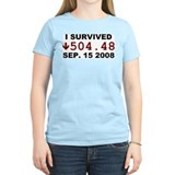 I Survived 9-15-2008 T-Shirt