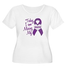 Missing My Daughter 1 PURPLE T-Shirt