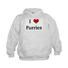 I Love Furries Hoodie