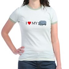I heart my pot bellied pig T
