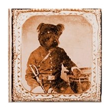 Skye Terrier TWITCH Tile Coaster