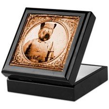 Skye Terrier BUBBA Keepsake Box