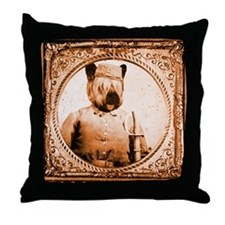 Skye Terrier BUBBA Throw Pillow