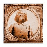 Otterhound BUBBA Tile Coaster