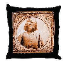 Otterhound BUBBA Throw Pillow