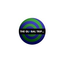"The Global Trip.com 1"" Mini Button (10 pack)"