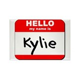 Hello my name is Kylie Rectangle Magnet (10 pack)