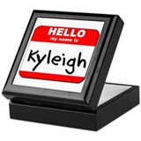 Hello my name is Kyleigh Keepsake Box