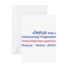 Cute Pontius pilate Greeting Card