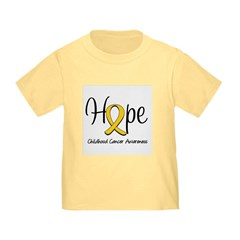 Childhood Cancer Hope Toddler T-Shirt