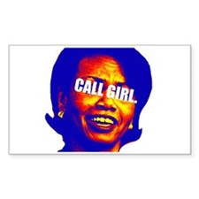CONDI CALL GIRL Rectangle Decal