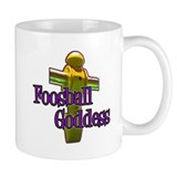 Foosball Goddess Small Mug