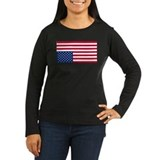 Inverted American Flag (Distress Signal) T-Shirt