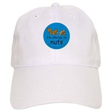 I'm allergic to nuts-squirrel Baseball Cap