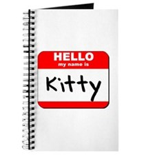 Hello my name is Kitty Journal