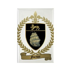 FORTIER Family Crest Rectangle Magnet