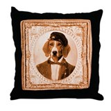 Foxhound RUPERT Throw Pillow