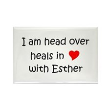 Cool Esther Rectangle Magnet (10 pack)
