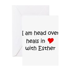 Cool Esther Greeting Card