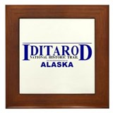 Iditarod Framed Tile