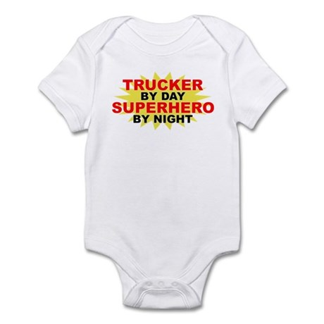 Trucker by Day Infant Bodysuit