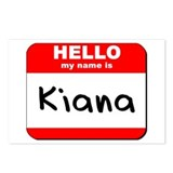 Hello my name is Kiana Postcards (Package of 8)