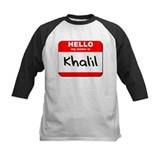 Hello my name is Khalil Tee