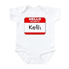Hello my name is Kelli Infant Bodysuit