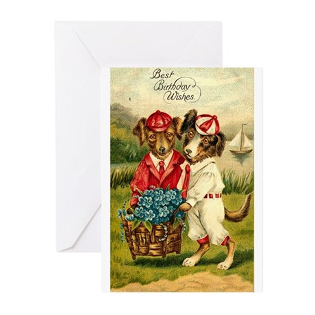 Birthday Wishes Greeting Cards (Pk of 20)