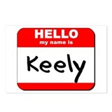 Hello my name is Keely Postcards (Package of 8)