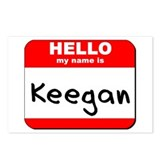 Hello my name is Keegan Postcards (Package of 8)