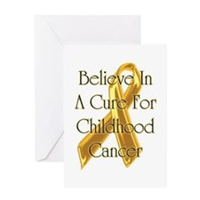Childhood Cancer Greeting Card
