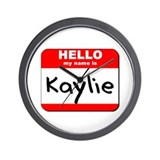 Hello my name is Kaylie Wall Clock