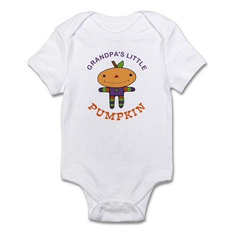 Grandpa's Little Pumpkin Infant Bodysuit