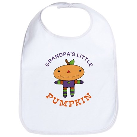 Grandpa's Little Pumpkin Bib