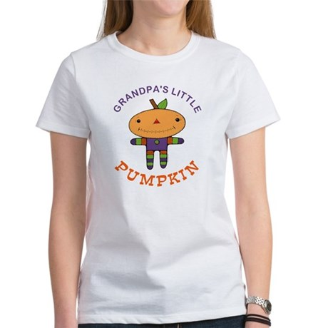 Grandpa's Little Pumpkin Women's T-Shirt