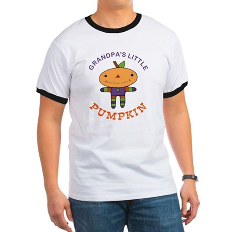 Grandpa's Little Pumpkin Ringer T