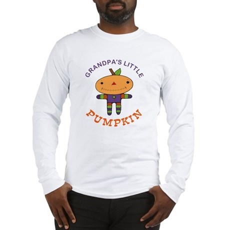 Grandpa's Little Pumpkin Long Sleeve T-Shirt