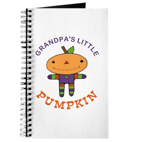 Grandpa's Little Pumpkin Journal